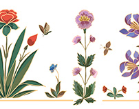 Ornate florals