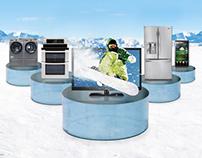 LG Snowboarding Ad
