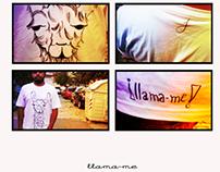LLAMA-ME, conceptual T-shirt