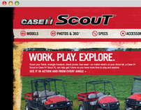 Case IH: Scout Utility Vehicles Microsite