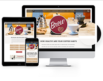 Brew Responsive Website
