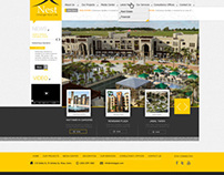 North Africa Company For Real Estate Website Design