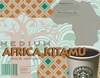 Starbucks Africa Kitamu Coffee Poster Project