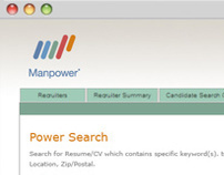 Manpower: Power Search Application