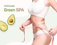 Green SPA Landing Page