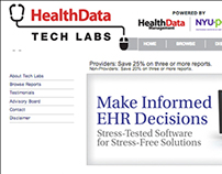 Health Data Tech Labs Website