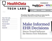 Health Data Tech Labs Website