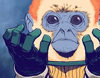 Tres Monos - Enchiladas Galácticas