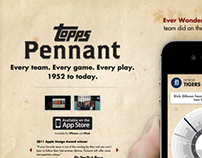 Topps Pennant —Landing Pages
