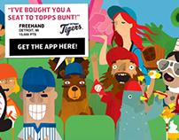 Topps BUNT - Marketing Landing Page