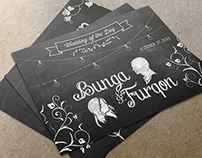 Bunga & Furqon - Wedding Sign