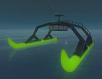 Modèle 3d - Bateau / 3D model - Boat