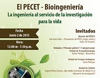 Afiche: Conferencia Bioingeniería