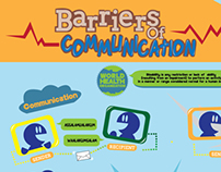 Infographic : Barriers of Communication