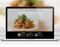 Elixor Restaurant Website Design Concepts for Redesign