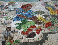 """The Micro-Mosaic Mural """"Public Art"""""""