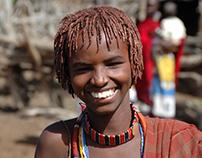Maasai men - Magadi Kenya