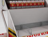 Sportsman vending trolley Concept