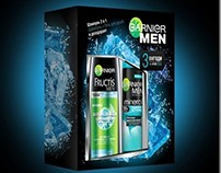 Promopack for GARNIER Fructis (men), 2012