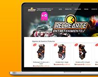 Recrearte Entretenimientos |Diseño Web
