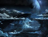 Matte painting (Cloudscape)