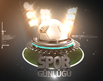 Sports News Opener