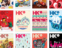 HK Magazine Cover & Editorial Design 2011- 2012