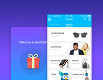 SwiftGift :: Instant Gift App UX