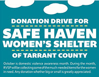 Women's Shelter Donation Drive