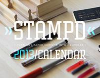 STAMPD // 2013 // CALENDAR