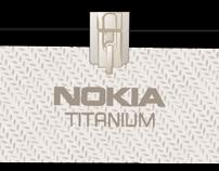Ilustración empaque Nokia Titanium