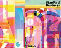 "Stanford Business Magazine, Autumn 2018 ""Value"""