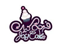 Joy Cake Shop Logo - شعار متجر فرحة كيك