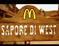 McDonald's - Sapore di West - TV campaign