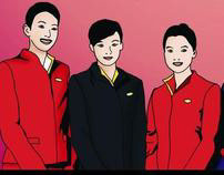 Cathay Pacific Cabin Crew Training Posters