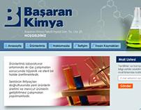 Logo tasarımı ve Web Sitesi tasarımı // Başaran Kimya
