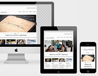 Ogenblikske: responsive website
