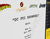 DC FUI Showreel by Zeis Lentz