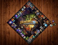 Hearthstone Board Game Concept