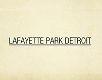 Presentación de Lafayette Park