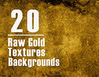 20 Free Raw Gold Textures Backgrounds