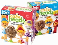 Cake Head Packaging & Insert (structure only)