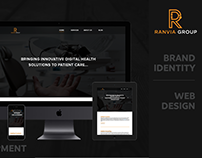 Ranvia Group - Branding & Web Development