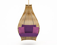 Krachap hanging chair
