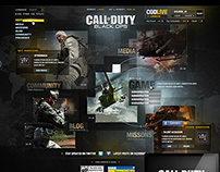 "Call of Duty ""Black Ops HQ"" Official Website (2010)"