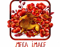 International Women's Day logo version for MEGA IMAGE