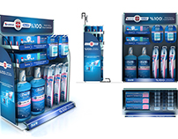 Oral B Ipana Counter Units