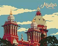 Madras Highcourt - Illustration