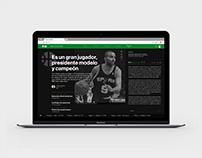 Pagina 12 - Re-diseño web