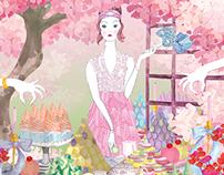 PRINTEMPS Ginza x Harper`s Bazaar Japan